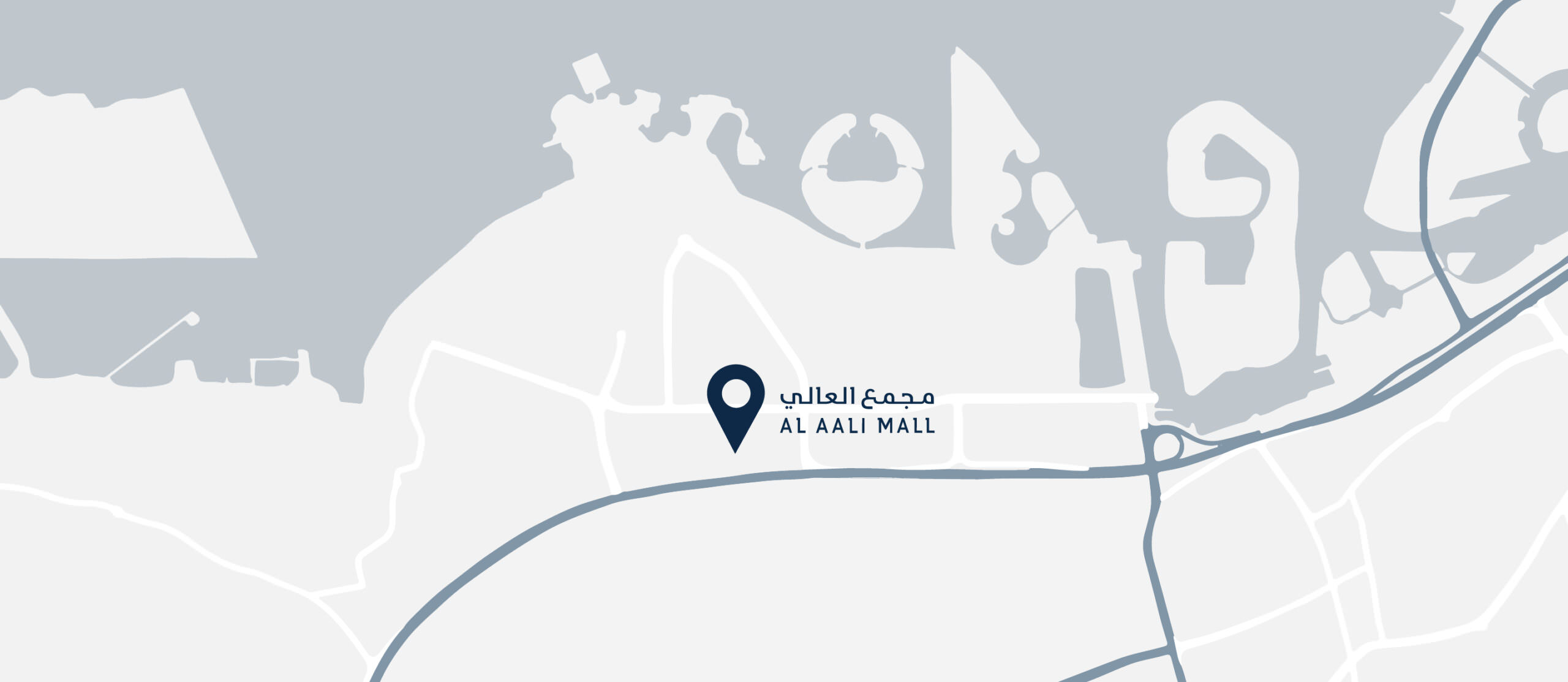 Al aali Mall Location on Google Map